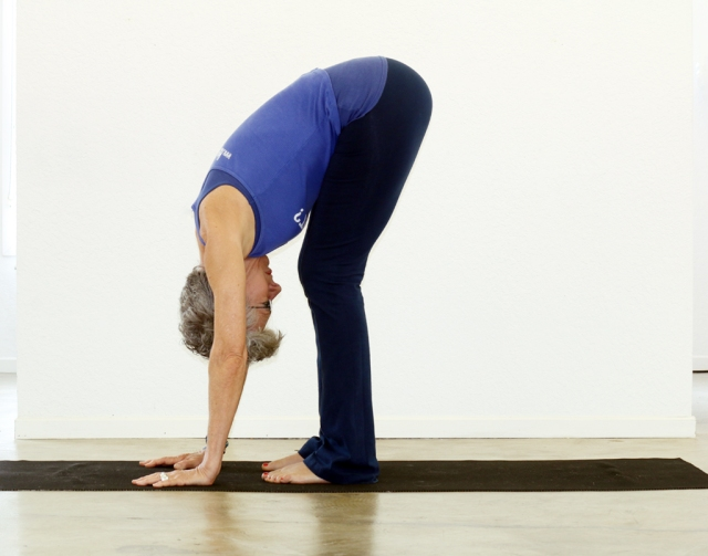 Standing Forward Bend/Uttanasana