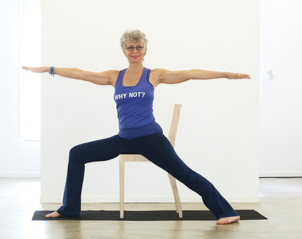 Warrior 2/Virabhadrasana 2 | YogaTherapyALaCarte  Warrior 2 Pose