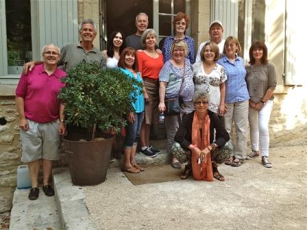 ©RGoellnitz - Yoga Retreat Group 2013 at La Madelene, Provence
