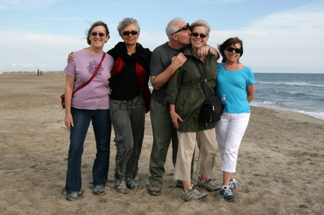 ©RGoellnitz - On Camargue Beach during Provence Yoga Retreat 2013