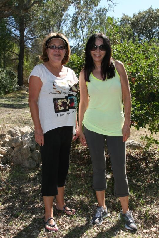 ©R.Goellnitz - Two Yogis at 'La Serrania' in Mallorca