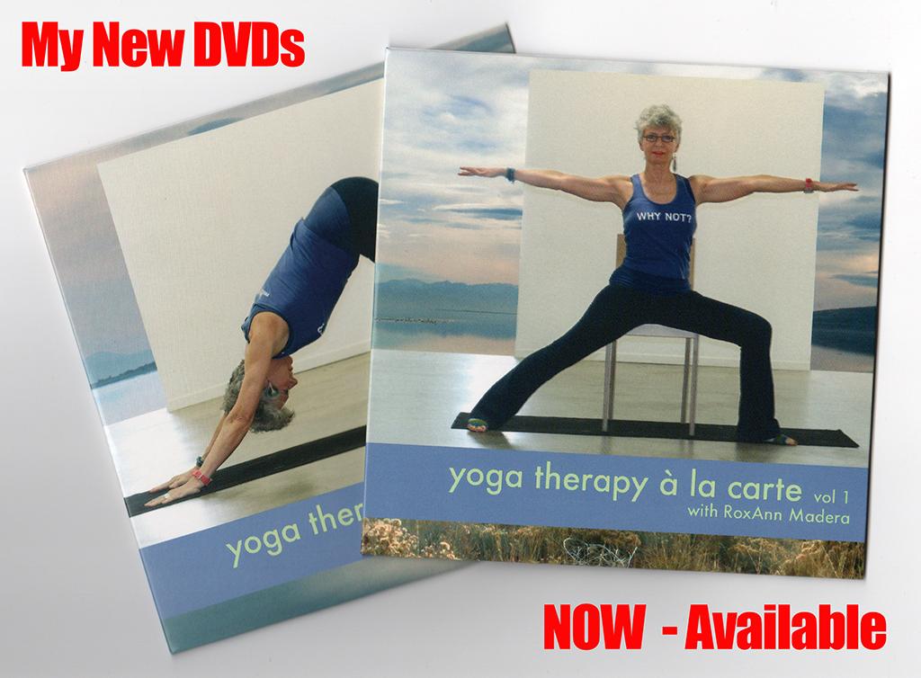 New Yoga Therapy DVDs | YogaTherapyALaCarte